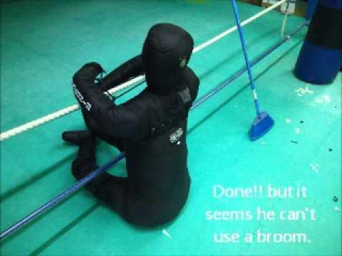 グラップリング人形組立  Assembly Instructions of the grappling dummy by the Ringtocage