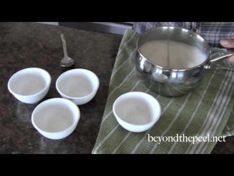 Irresistible Dairy Free Coconut Panna Cotta