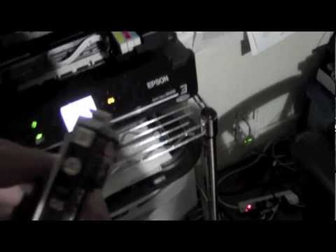How to Change the Ink on Epson Small in One NX430​​​ | H2TechVideos​​​