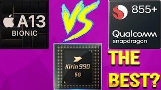 APPLE A13 Vs KIRIN 990 Vs Snapdragon 855 Plus   Battle Of The Best   Guess The Winner!!! [Eng Sub]]