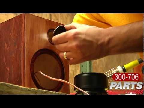 How to build your own speakers - Overnight Sensation speaker building kit