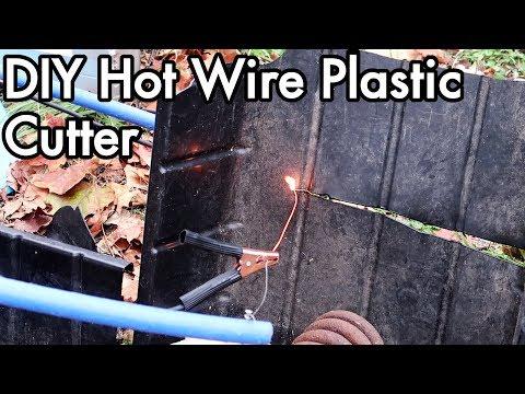 DIY Hot Wire Plastic Cutter