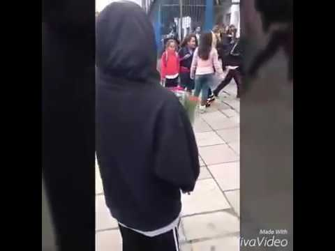 Boyfriend surprises his Girlfriend at School