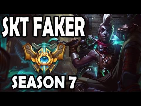 FAKER plays EKKO vs A Korean Diamond YASUO Season 7