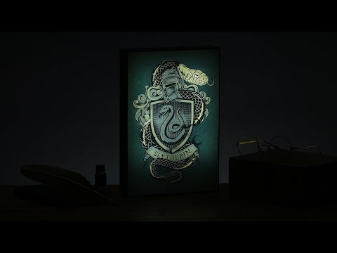 Harry Potter™ Slytherin™ Luminart | Paladone