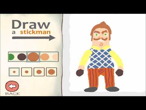 HELLO NEIGHBOR Draw a Stickman Epic 2  - NEIGHBOR and FNAF Freddy
