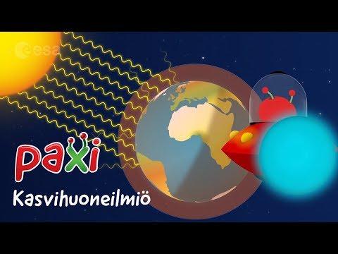 Paxi – Kasvihuoneilmiö