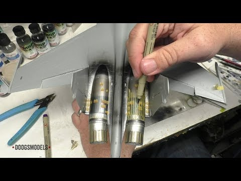 Su-35 Flankoff Part 15 - Exhaust Painting 1