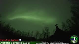 Aurora Borealis in Lapland, Finland *Live Stream*