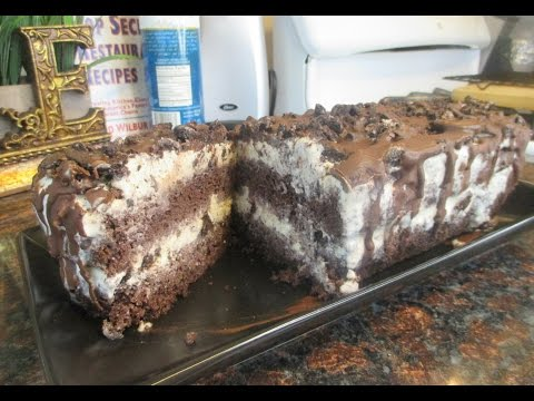 Pioneer Woman Ice Cream Cake | Chocolate Oreo Ice Cream Cake | Easy