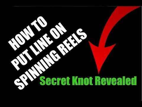 How To Put Line On Spinning Reels Correctly (Secret Knot Revealed)
