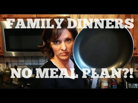 Family Dinners from Nothing | No Meal Plan, No Grocery Shopping