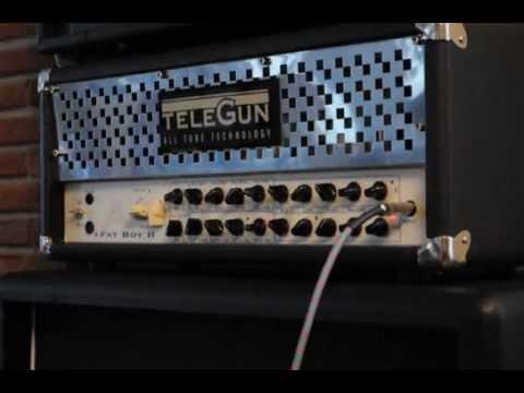 Telegun Fatboy II boutique guitar amp Part 2/2