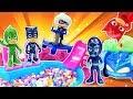 Pijamaskeliler çizgi film oyuncakları ile çocuk videoları derlemesi