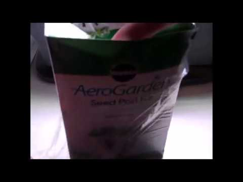 Miracle-Gro AeroGarden Bounty with Gourmet Herb Seed Pod Kit Customer Review