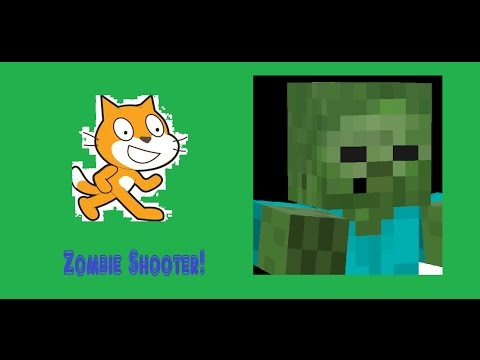 Let's Make a Zombie Shooter on Scratch!