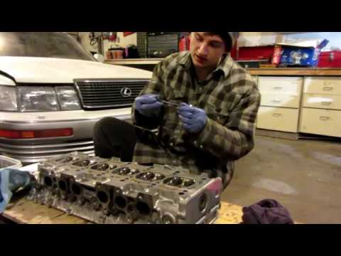 Building the 2JZGTE  Head for 600hp