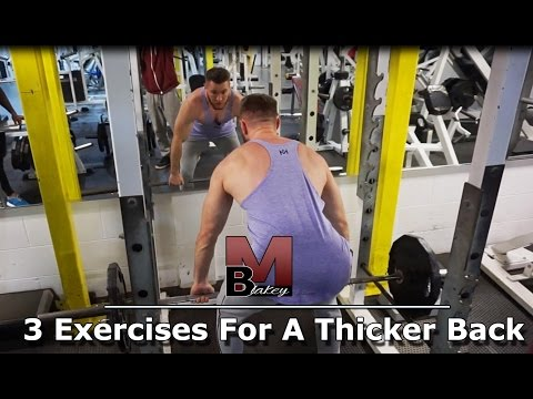 MBFit - 3 Exercises To Build A Thicker Back