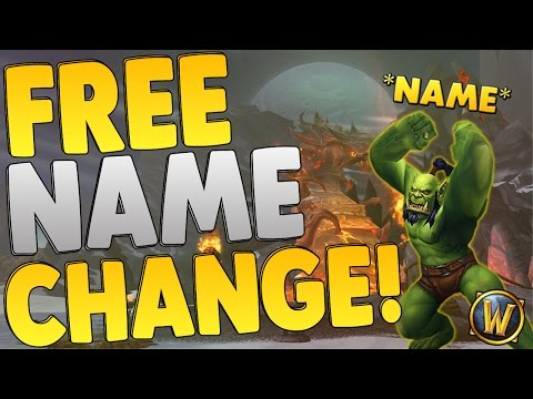 World of Warcraft: How To Change Your Name For Free | Free Name Change | After Patch 7.0.3!