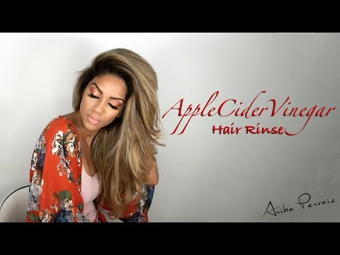 Apple Cider Vinegar - Hair Rinse | ARIBA PERVAIZ
