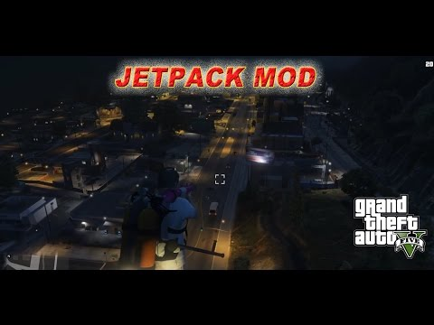 Why I Love GTA on PC: MODS!!! - Part 1 - Jetpacks!!!