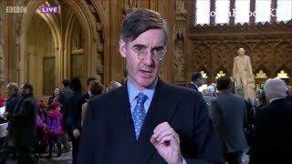 """Jacob Rees Mogg chancellor in waiting complains about """"eeyores"""" in parliament"""