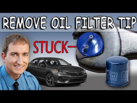 Stuck Oil Filter Removal Tip