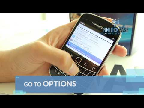 How to Find the IMEI (Serial Number) of your BlackBerry 9900 Bold