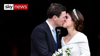 Eugenie marries her man in front of A-list actors, supermodels and celebs