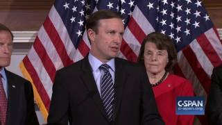 Senate blocks four gun related amendments & Sen. Murphy reaction (C-SPAN)