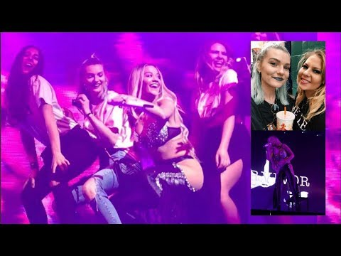 DANCING ON STAGE WITH RITA ORA!! Newcastle O2 Academy | LoveFings
