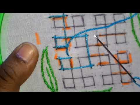 23/1.Sindhi embroidery,sindhi tanka, kutch work ,gujrati stitch