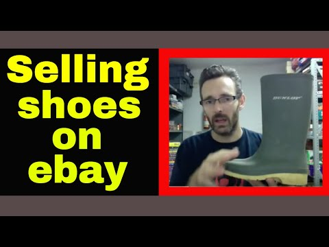 Selling shoes on ebay to make quick easy cash