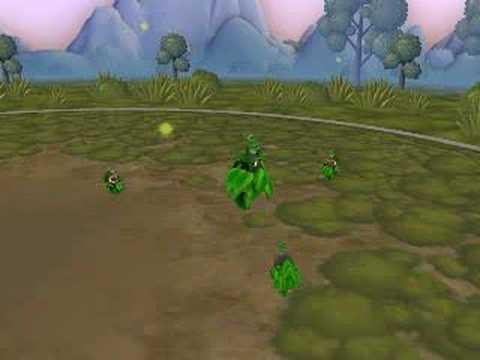 Spore Creature Creator - Burmy Pokemon Diamond and Pearl
