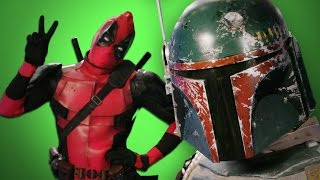 Deadpool vs Boba Fett. Behind the Scenes of Epic Rap Battles of History