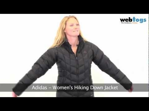 Adidas Women's Hiking Down Jacket - Lightweight & Warm Insulated Jacket