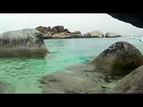 Norwegian Getaway Excursion to Virgin Gorda in Tortola, British Virgin Islands (HD video)