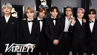 Download BTS Wants To Sing With Lady Gaga - 2019 Grammys Red Carpet Video