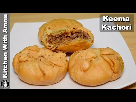 Khasta Keema Kachori Recipe - Special Ramadan Recipe - Kitchen With Amna