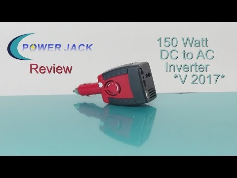 PowerJack 150W MSW 12V DC to 110V AC inverter review