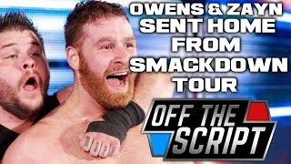 Kevin Owens & Sami Zayn SENT HOME From Smackdown Live Tour! - Off The Script #195 Part 1
