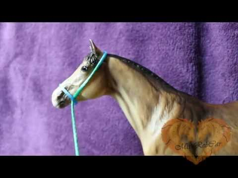 {Tutorial} How to: Make a simple Breyer Rope Headcollar in seconds