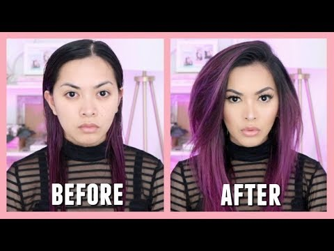 HOW TO GET BIG STRAIGHT HAIR (easy and affordable)