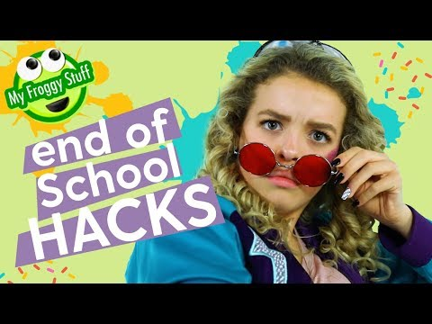 End of the School Year Hacks | MyFroggyStuff x GoldieBlox