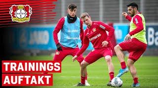 2020 Trainingsstart In Leverkusen So Trainieren Havertz Diaby Und Co