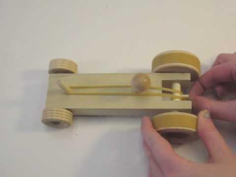 Wooden Car Kit