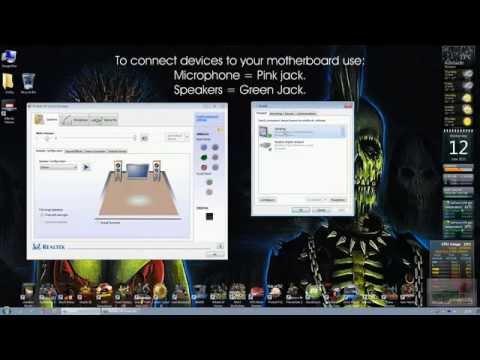Realtek Audio Hissing Fix! Acoustic Echo Cancellation