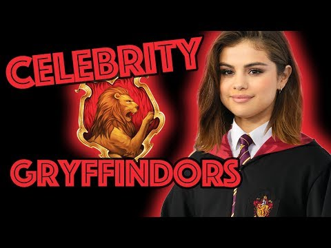 Gryffindor Celebrities sorted by Pottermore!