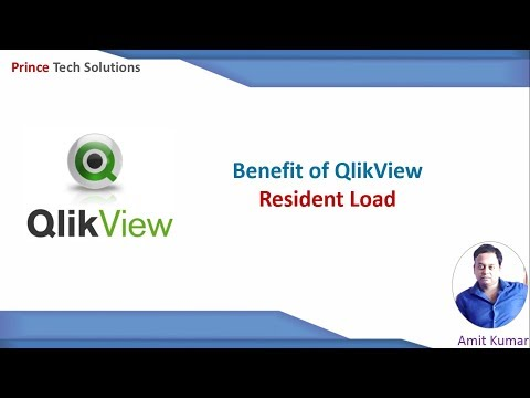 QlikView Tutorial | Resident Load in QlikView