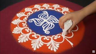 Sanskar Bharati Rangoli Design